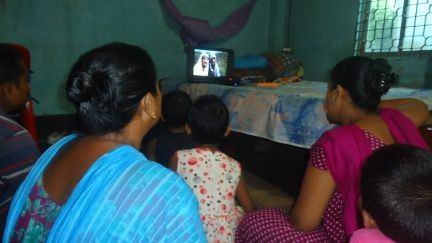 Broadcast Jesus to up to 77,000 People