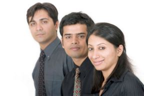 Indian Business Team